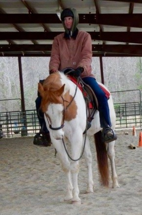 "Sometimes: He Is A ""Western Dressage Pony"""""