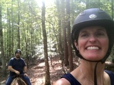 Riding At Croft State Park