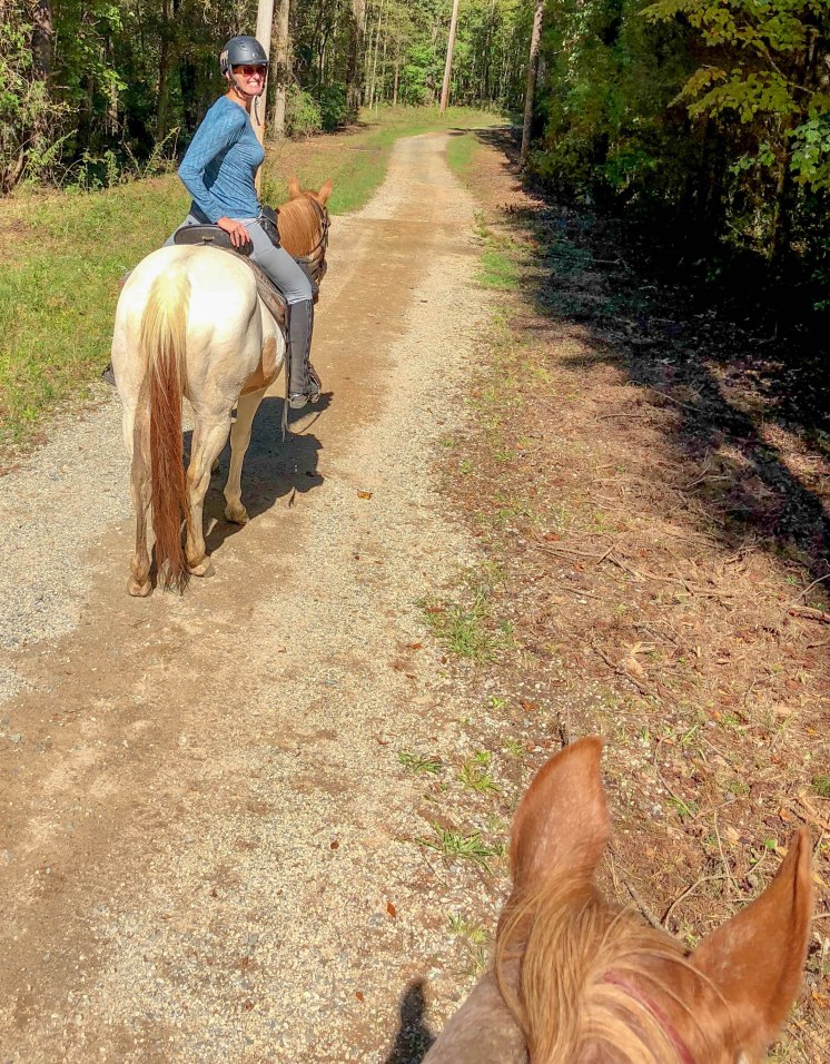Trail Riding With The Hubby